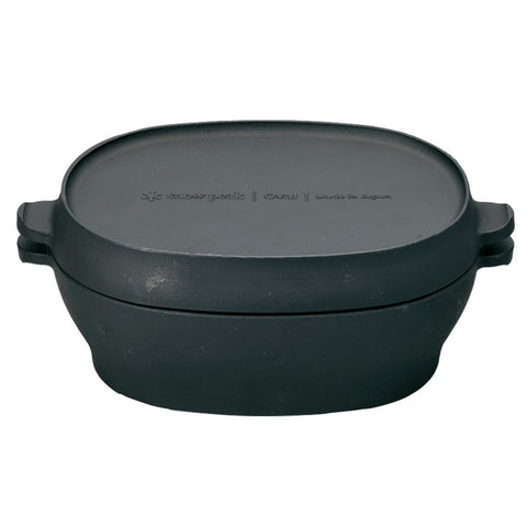 Snow Peak Micro Oval Oven | Cast Iron CS-503