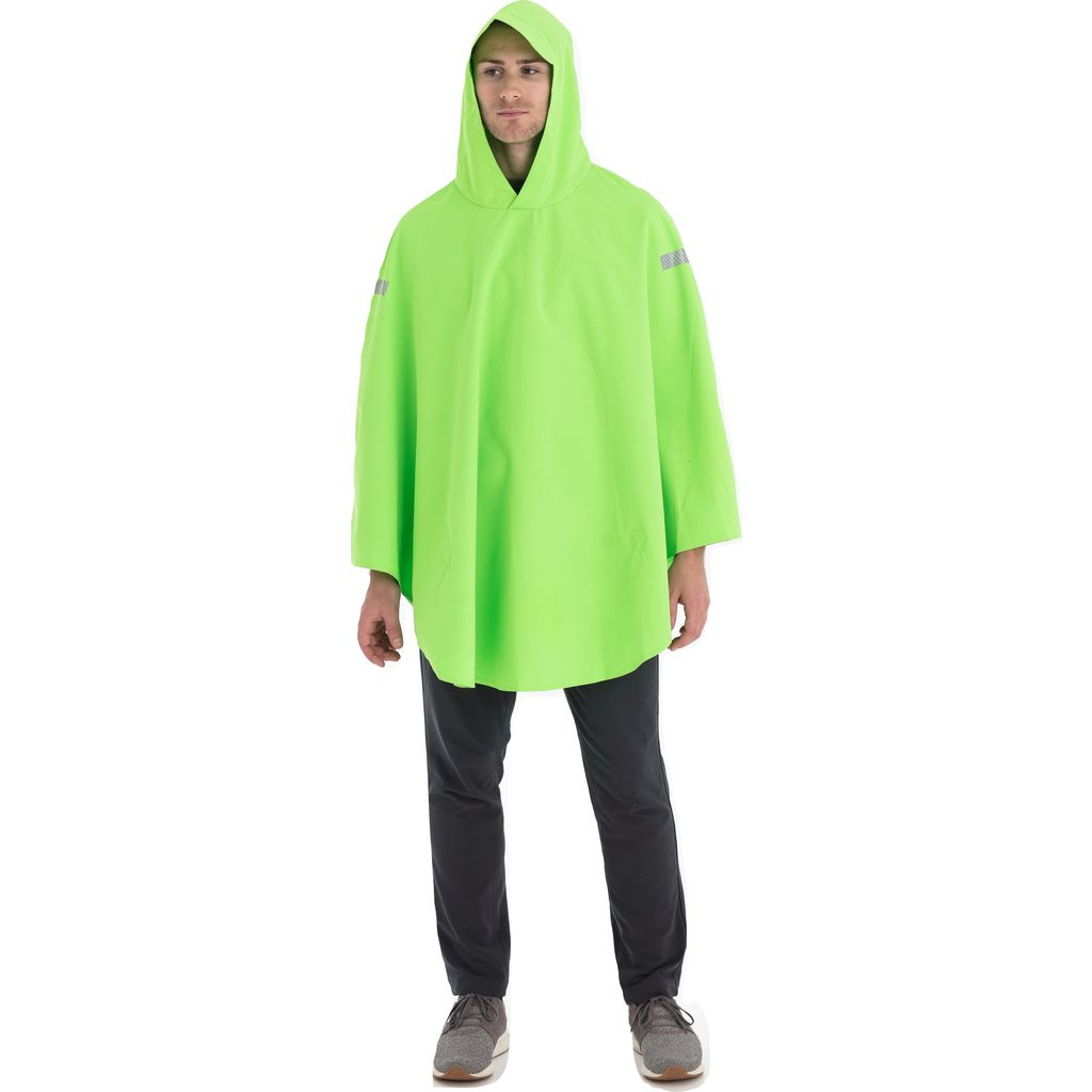 Cleverhood Cleverlite Rain Cape | Glow Green