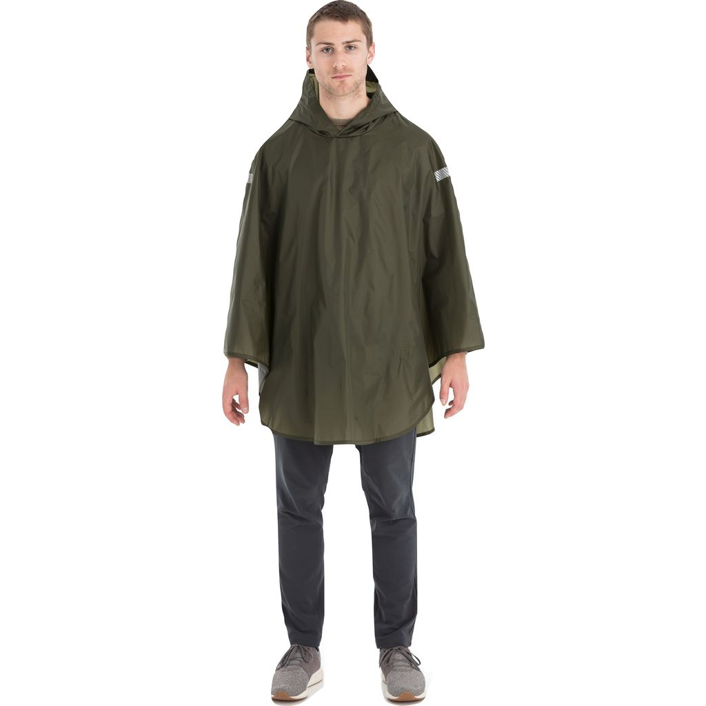 Cleverhood Cleverlite Rain Cape | Kelp Green