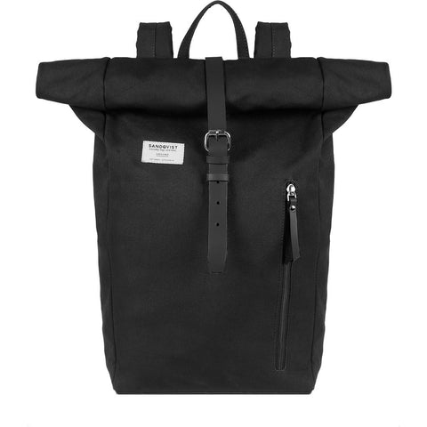 Sandqvist Dante Rolltop Backpack | Black SQA584