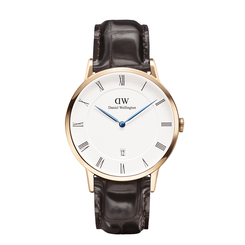 Daniel Wellington Dapper York Men's Watch | Rose Gold 1102DW