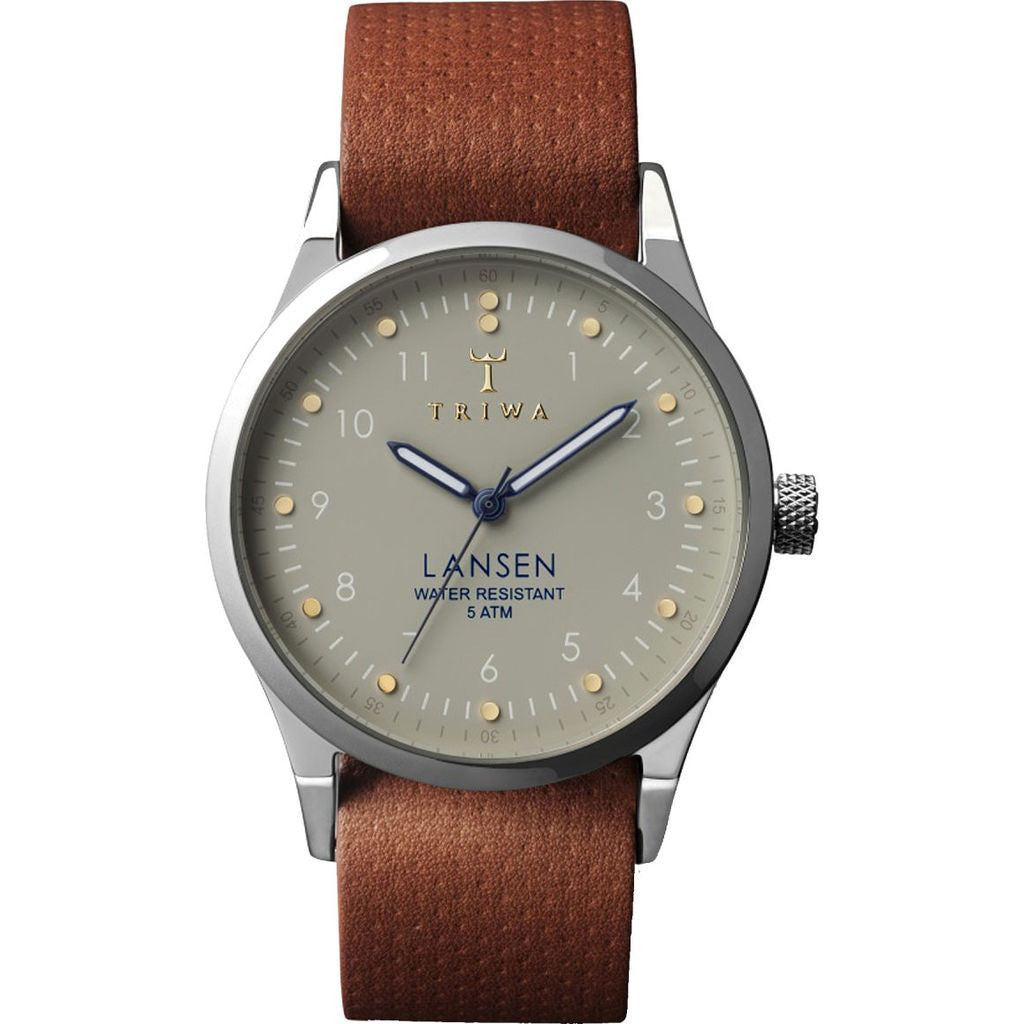 Triwa Dawn Lansen Watch | Brown Dots Mono LAST113-MD010212