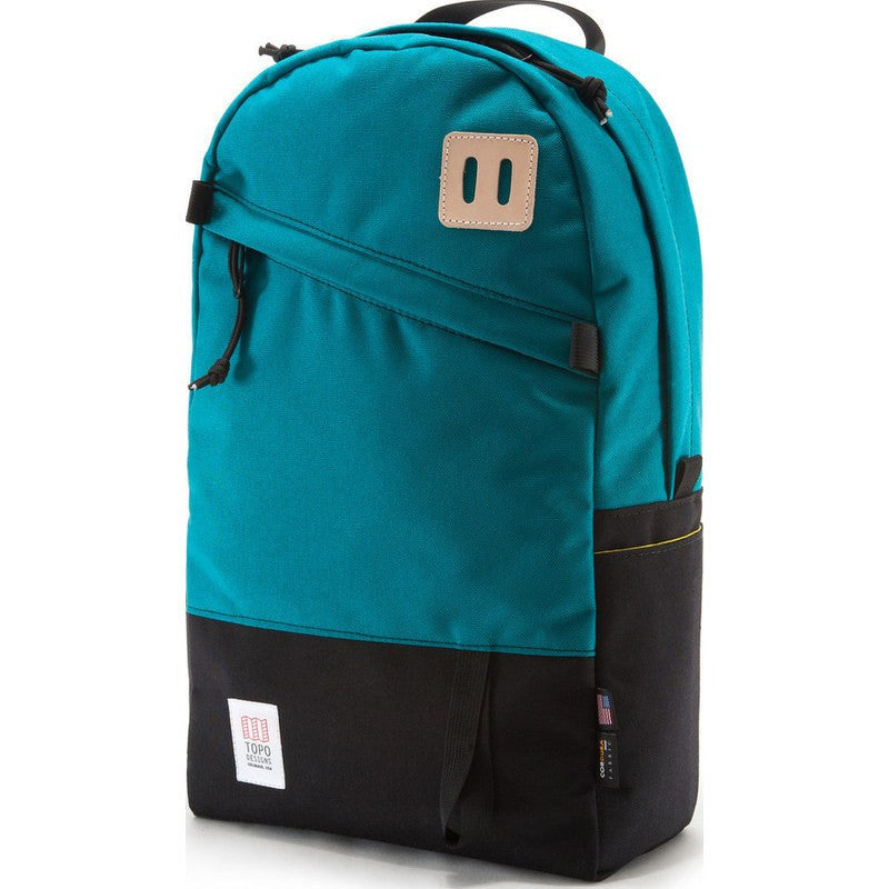 Topo Designs Daypack Backpack | Turquoise/Black