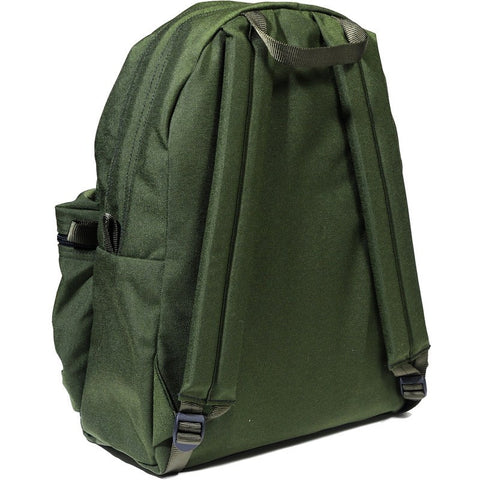 Epperson Mountaineering Day Pack Leather Patch Moss