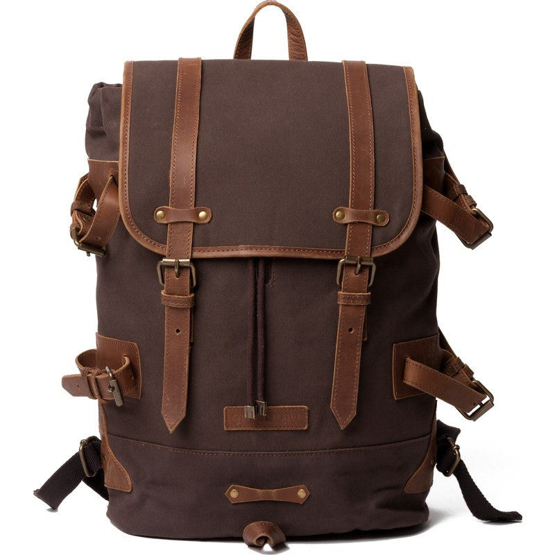 United By Blue Derby Tier Cinch Backpack | Chocolate