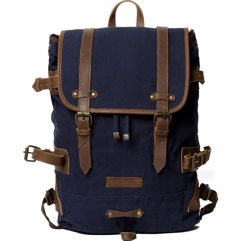 United By Blue Derby Tier Cinch Backpack | Navy