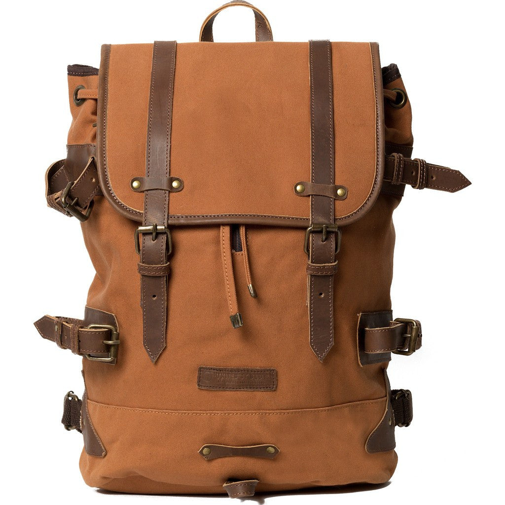 United By Blue Derby Tier Cinch Backpack | Nutmeg