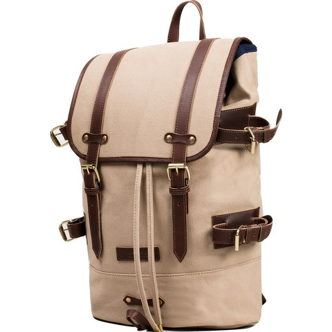 United By Blue Derby Tier Cinch Backpack | Tan DERBYTI-TN