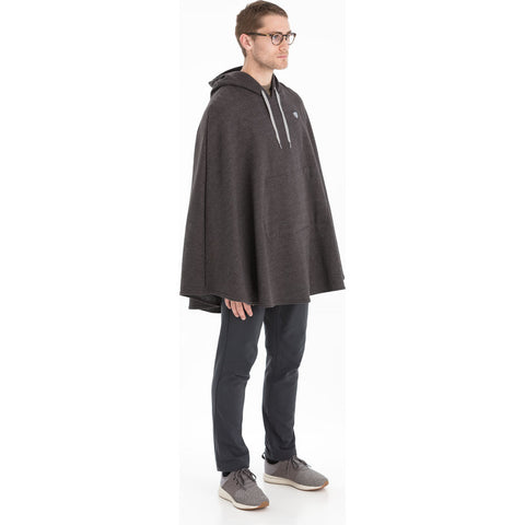 Cleverhood Polartec Thermal Pro Sweatshirt Cape | Dark Gray