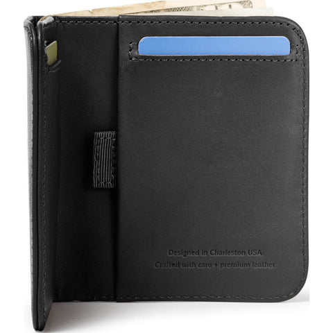 Distil Union Wally Agent Billfold | Ink [Black] WA101