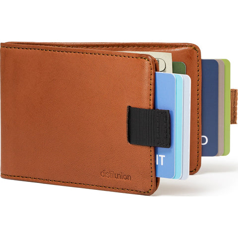 Distil Union Wally BiFold RFID Wallet | Hickory Brown