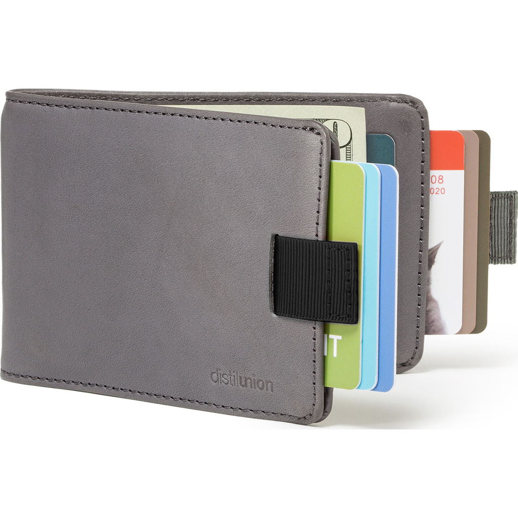 Distil Union Wally BiFold RFID Wallet | Slate Gray