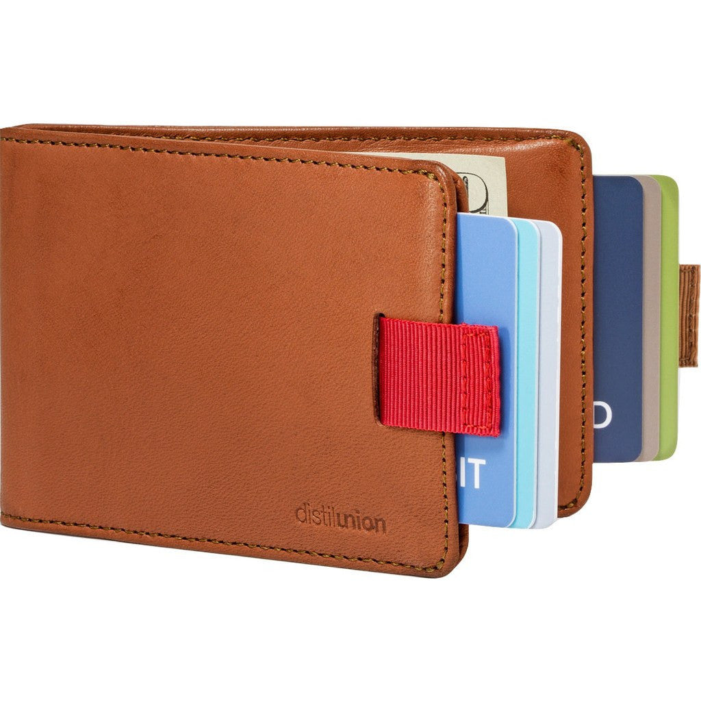 Distil Union Wally Bifold Wallet | Hickory Brown WBF202