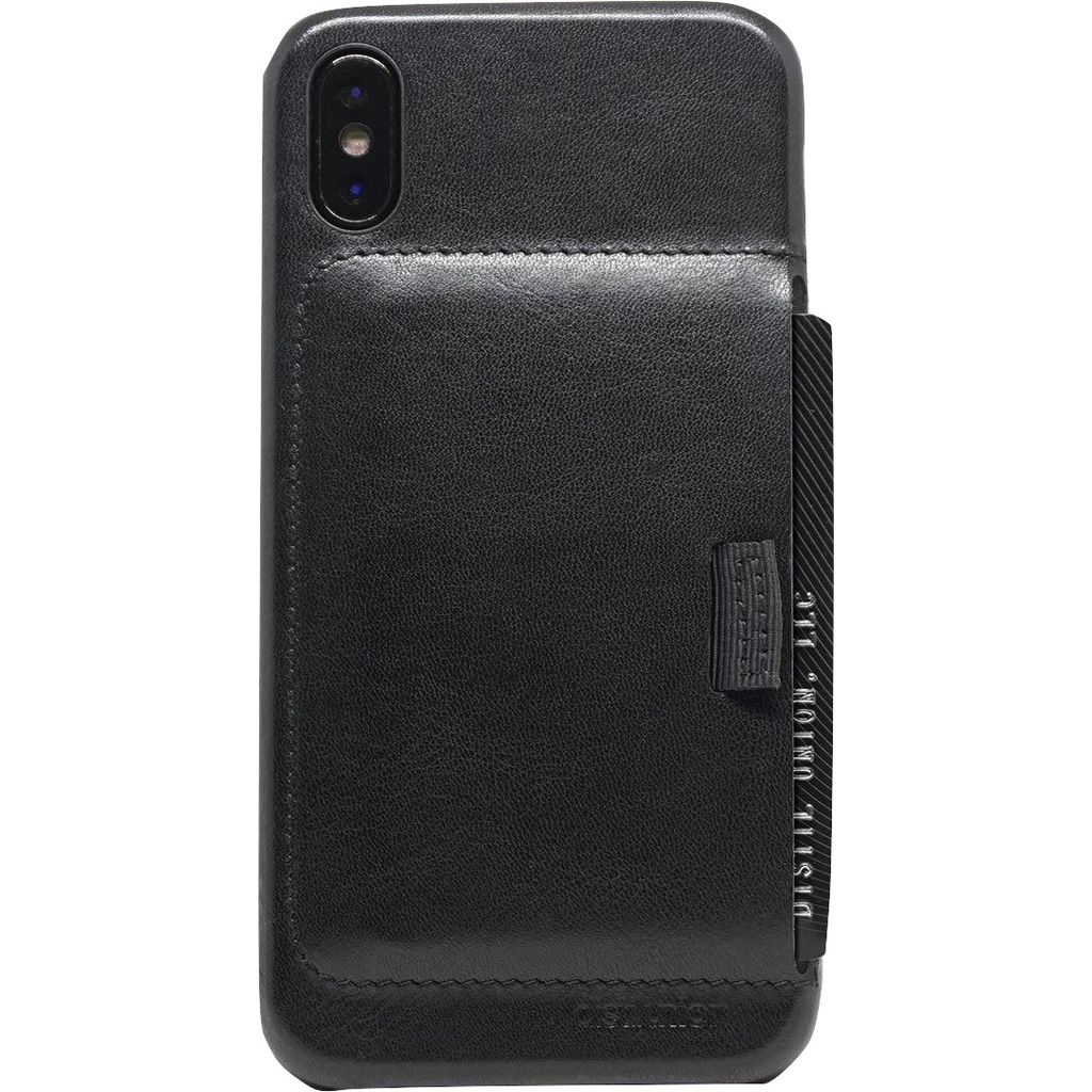 Distil Union Wally Case iPhone X | Ink Black WLCX01