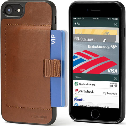 Distil Union Wally Case for iPhone 7 | Hickory [Brown] WLC702