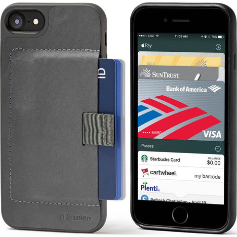 Distil Union Wally Case for iPhone 7 | Slate [Gray] WLC703