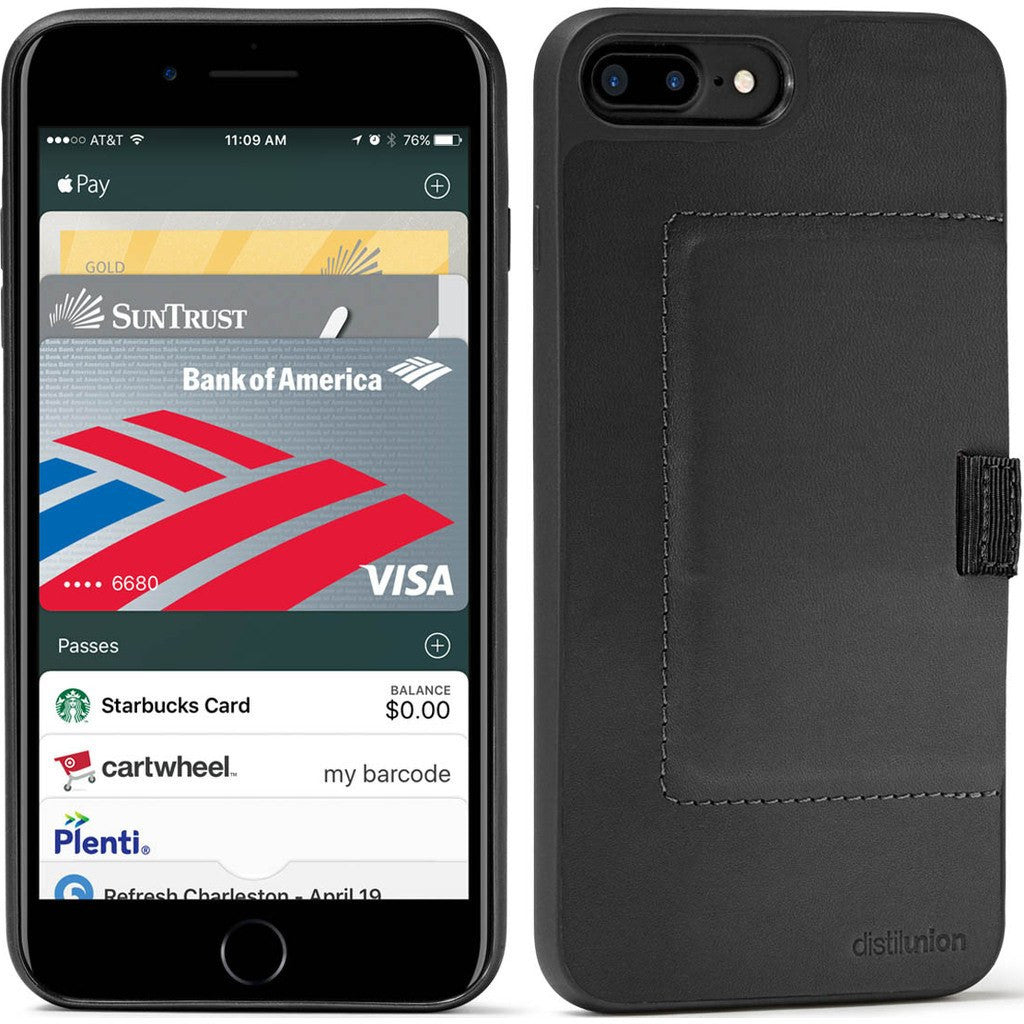 c8ccb2f2774be1 Distil Union Wally Case for iPhone 7 Plus | Ink [Black] WLC7P1 ...