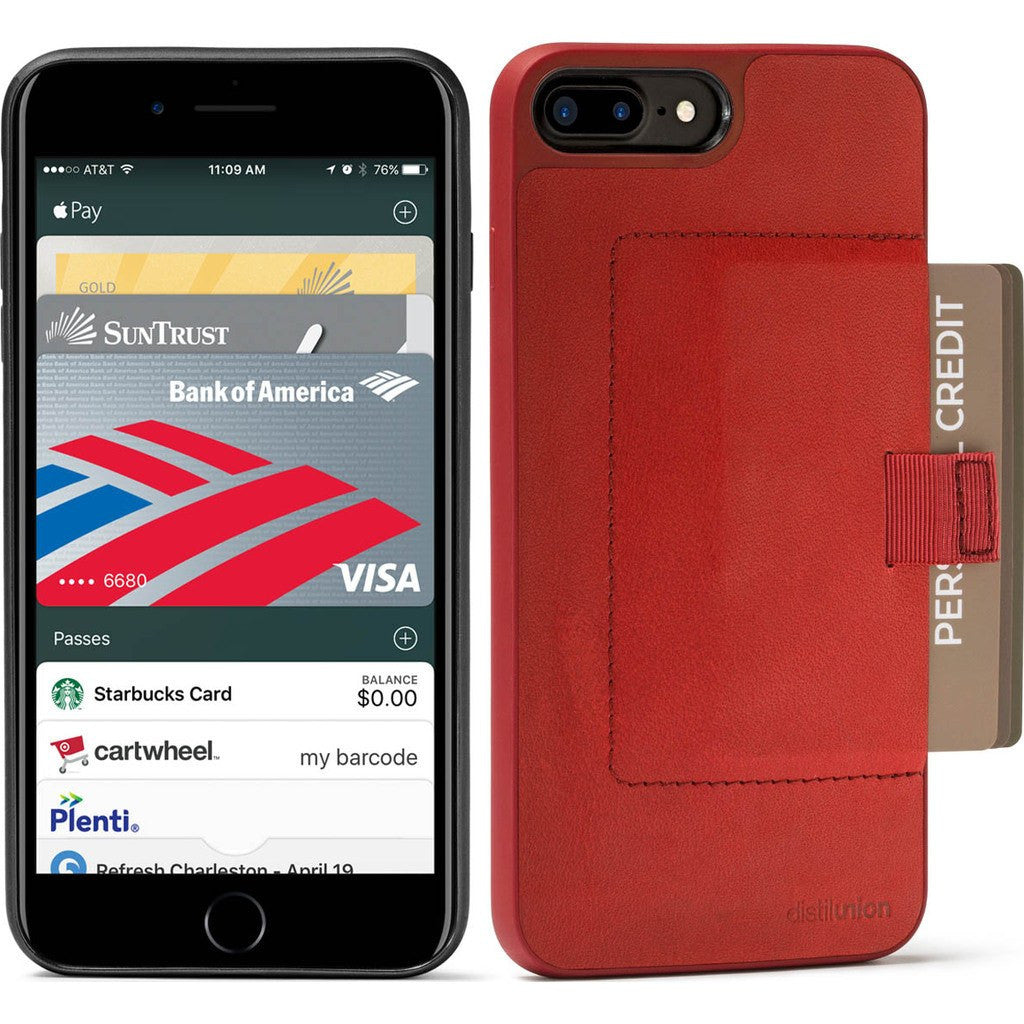 Distil Union Wally Case for iPhone 7 Plus | Rust [Red] WLC7P4