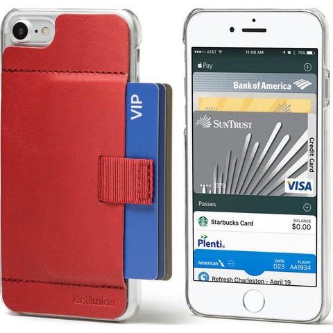 Distil Union Wally Ether iPhone 7/8 Case | Red