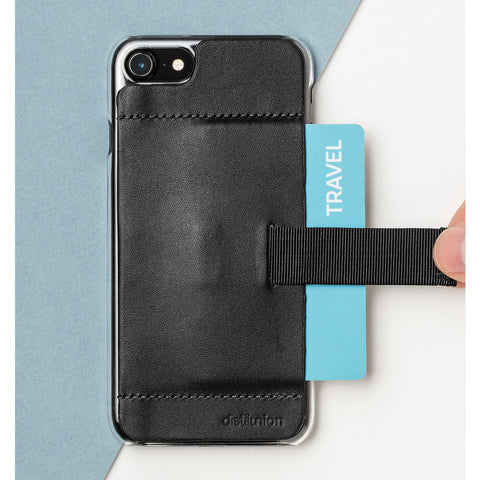 Distil Union Wally Ether Case for iPhone 7 | Ink Black WLY701