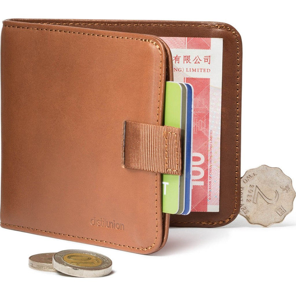 Distil Union Wally Euro Bifold Wallet | Hickory [Brown] WE302
