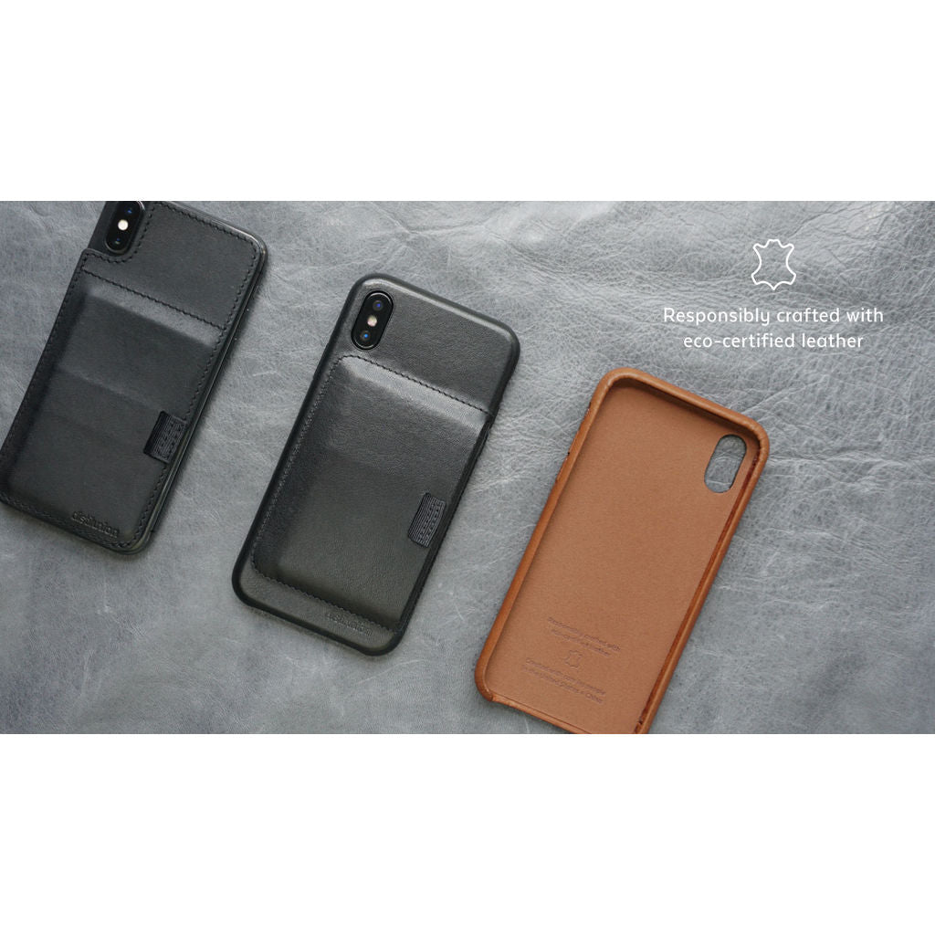 check out 5ee17 32ede Distil Union Wally Case iPhone X | Hickory Brown