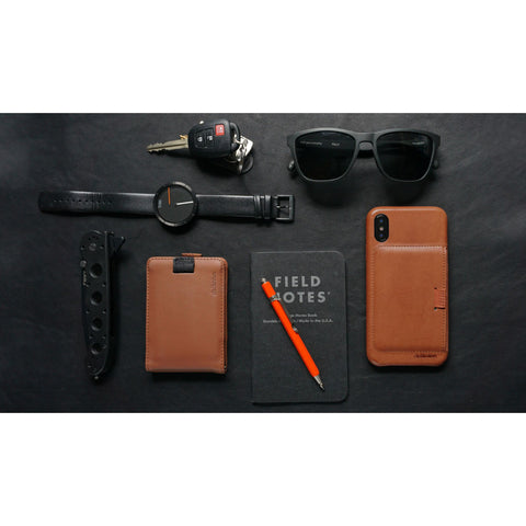 Distil Union Wally Case iPhone X | Hickory Brown WLCX02