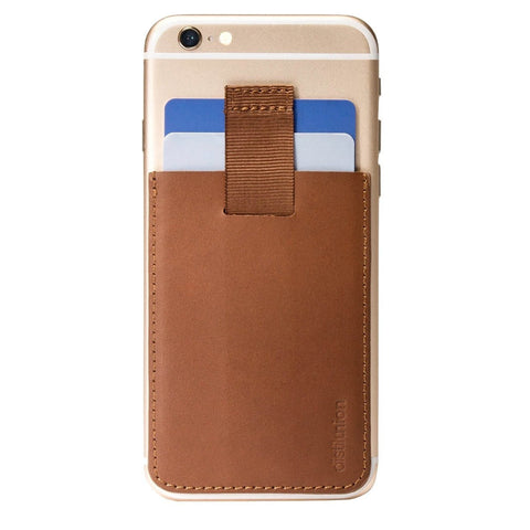 Distil Union Wally Junior Card Holder | Hickory [Brown] WU202