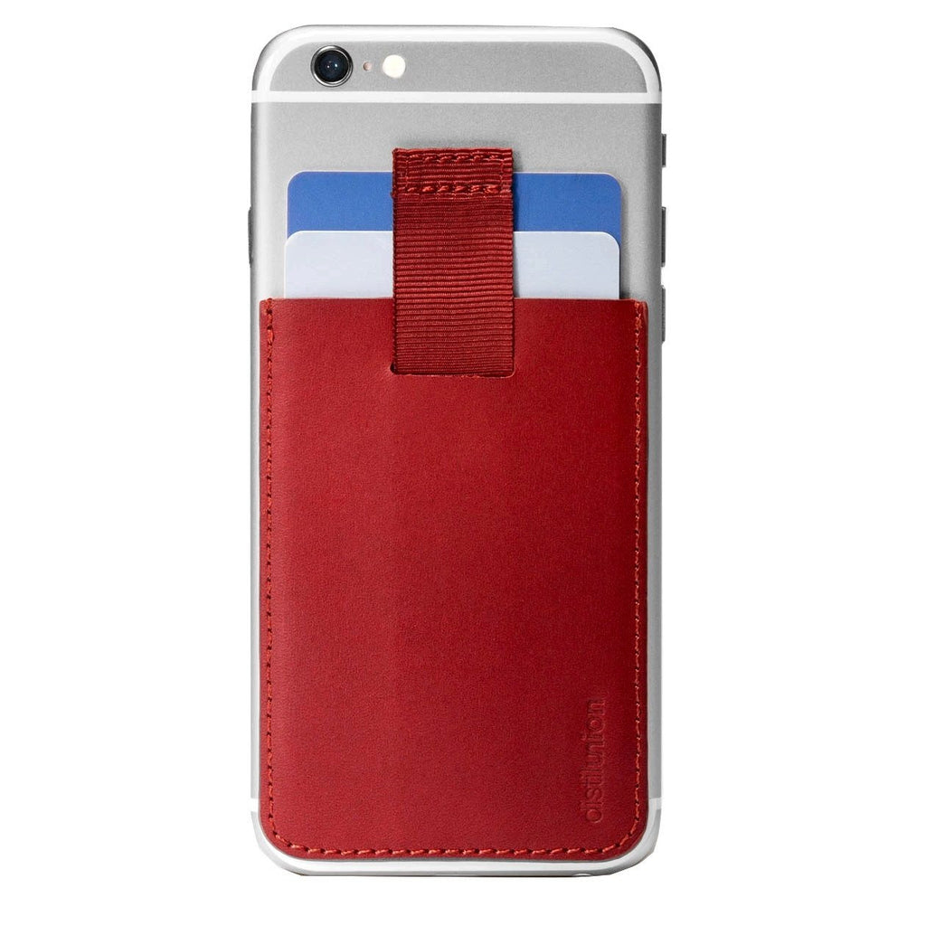 Distil Union Wally Junior Card Holder | Rust [Red] WU204