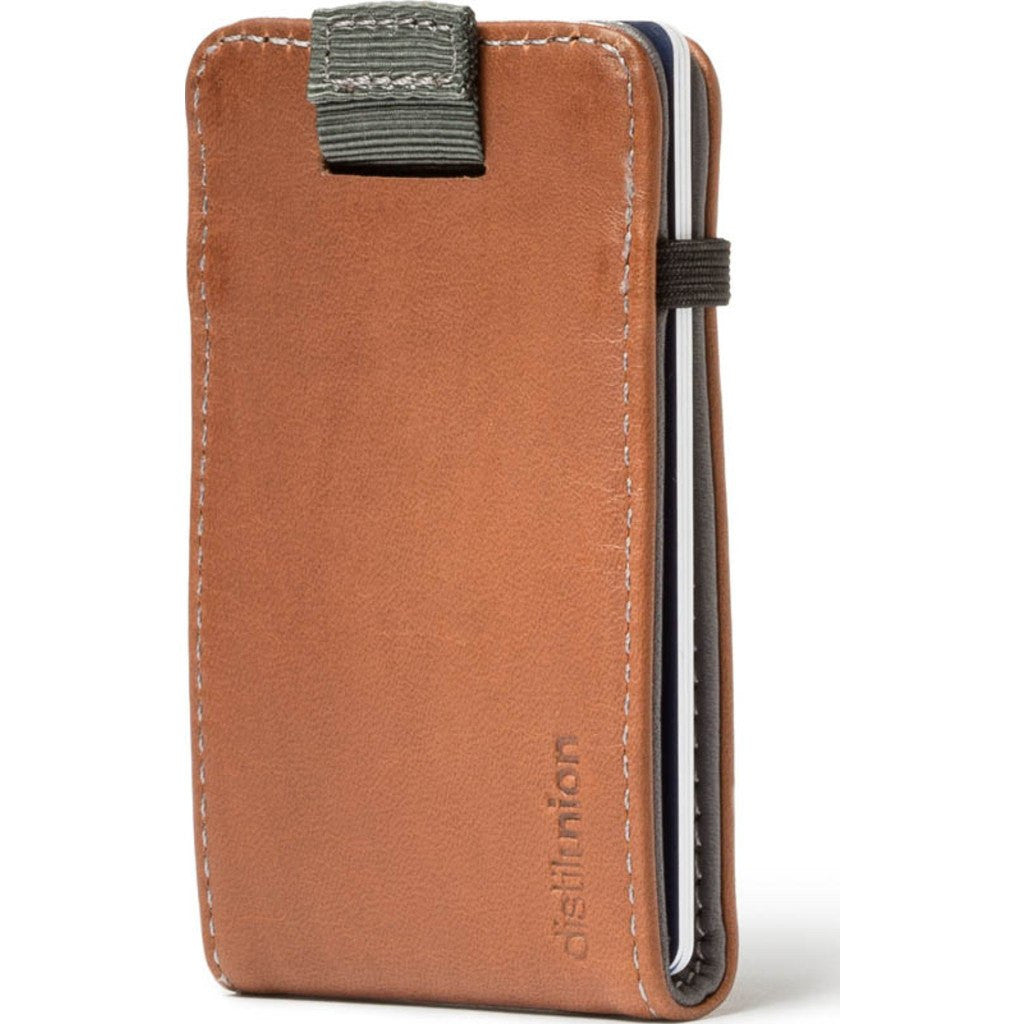 Distil Union Wally Micro Sleeve Wallet | Slate/Hickory [Gray/Brown] WM101
