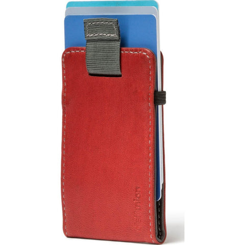 Distil Union Wally Micro Sleeve Wallet | Slate/Rust [Gray/Red] WM104