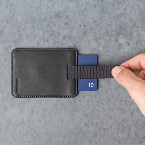 Distil Union Wally Sleeve Wallet | Ink Black WS201