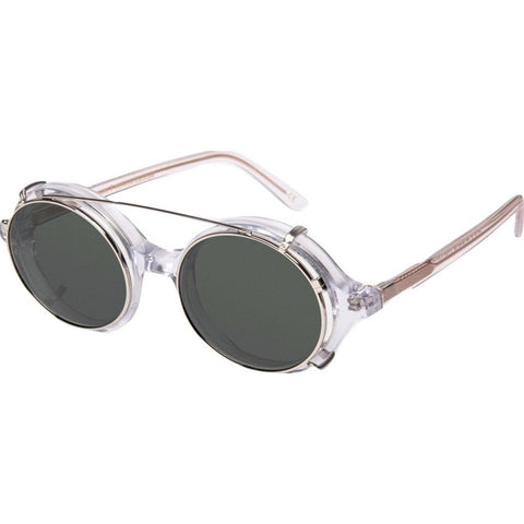 Han Kjøbenhavn Doc Clip-On Sunglasses | Clear DC-CO-7-SUN