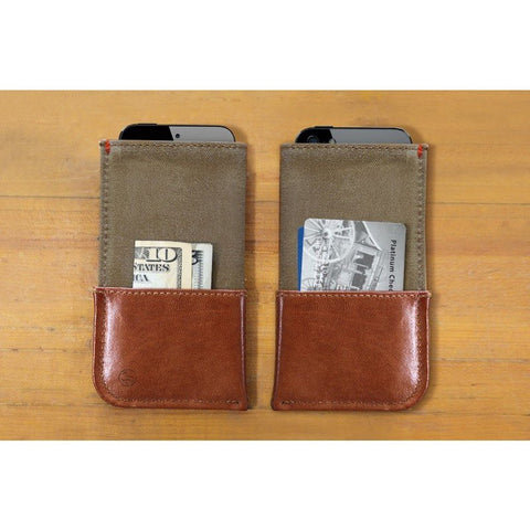 DODOcase Durables iPhone 4/5 Wallet | Sage
