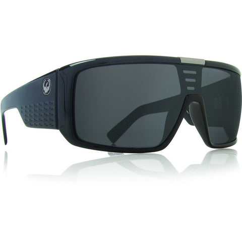 Dragon Domo Sunglasses | Jet/Grey
