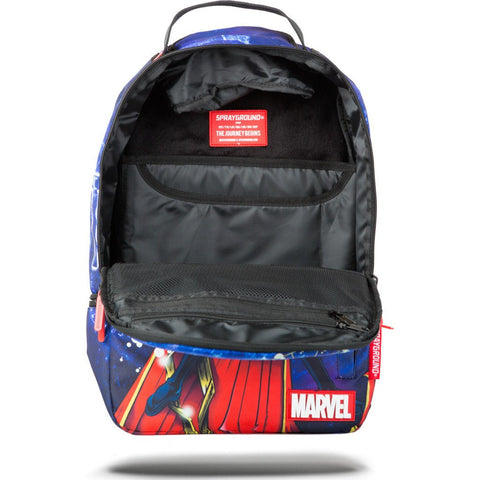 Sprayground Marvel Dr. Strange Air Magic Backpack | Blue 9100B858NSZ