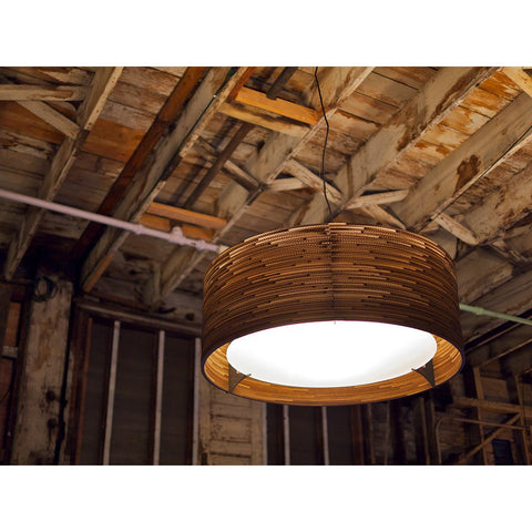 "Graypants Scraplight Drum 18 Pendant Light | Natural 18.0"" Diameter GP-151-UL"