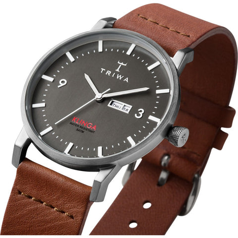 Triwa Dusk Klinga Watch | Brown Classic KLST102-CL010213