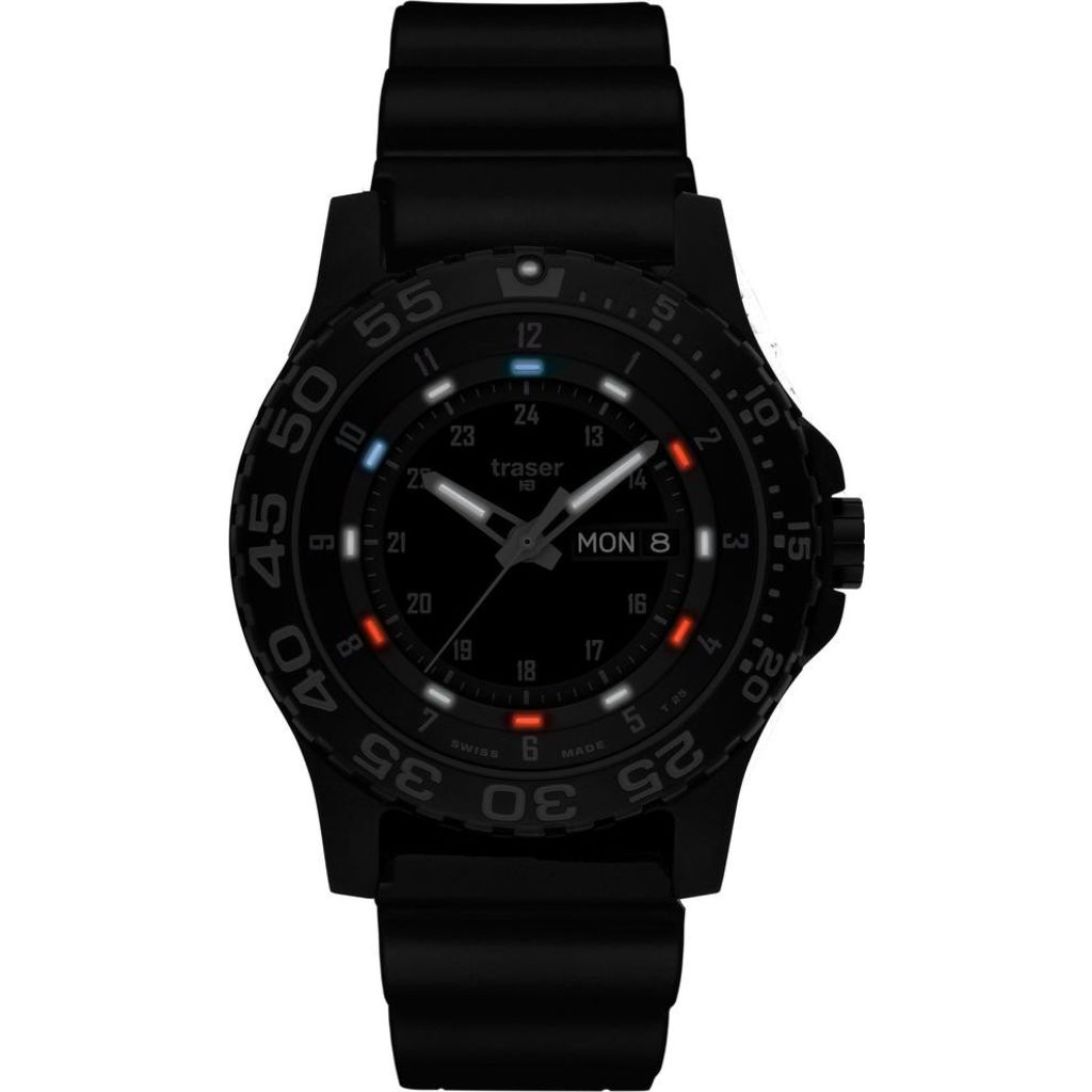 traser H3 P66 Shade RWB Watch | Rubber Strap 107370