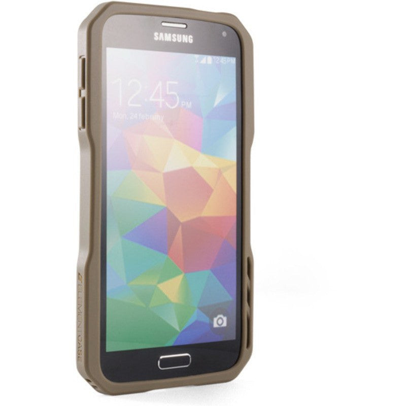 ElementCase Recon Pro Samsung Galaxy S5 Case Dark Earth/Black