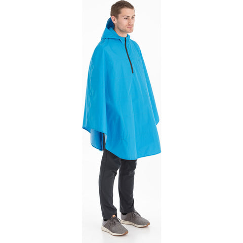 Cleverhood Cleverzipster Rain Cape | Electric Blue