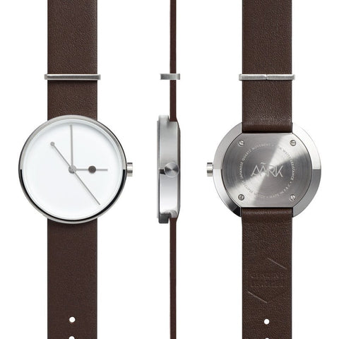 AARK Collective Eclipse Watch | Silver