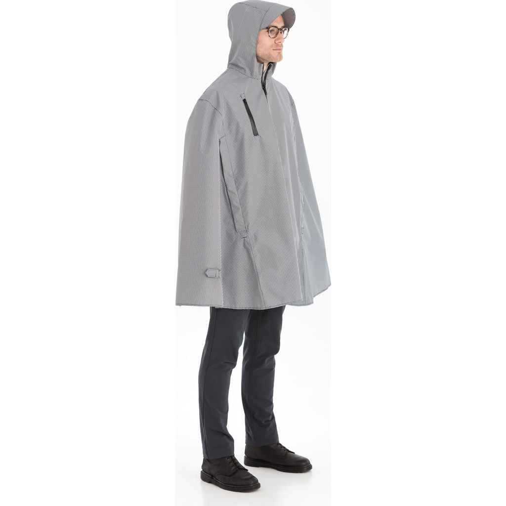 Cleverhood Electric Rain Cape | Gingham