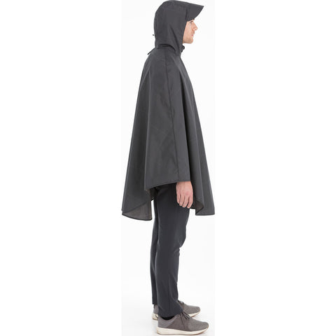 Cleverhood Cleverzipster Rain Cape | Electric Graphite