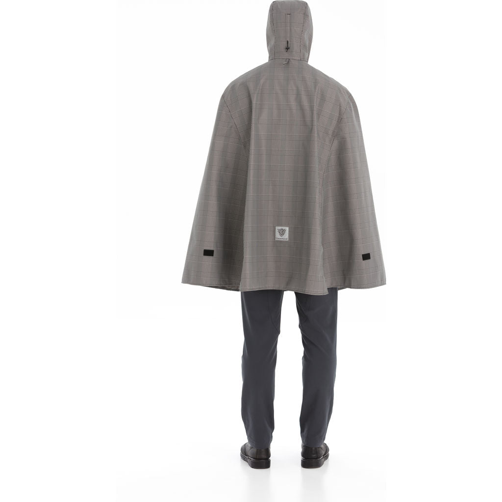 Cleverhood Electric Rain Cape | Houndstooth