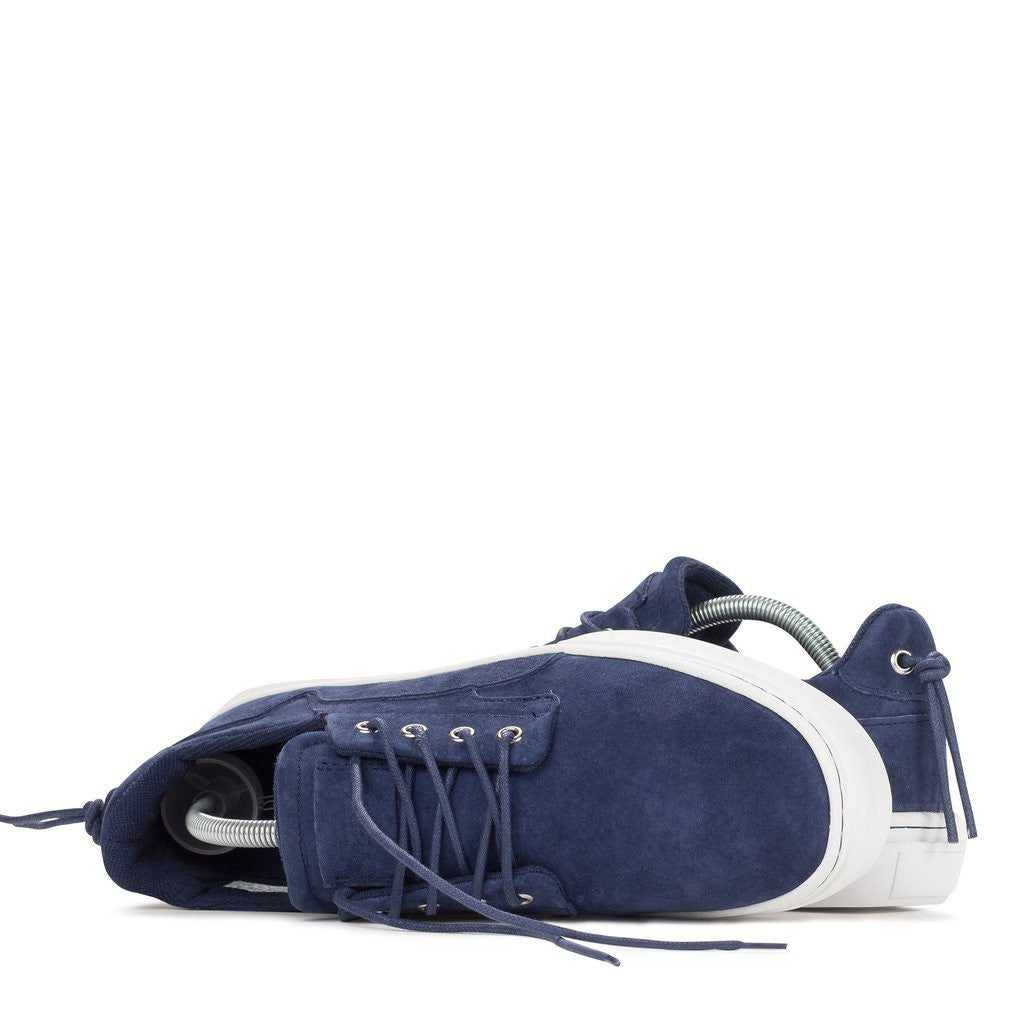 Clear Weather Eighty Low Top Shoes | Navy Suede CRW-80-NVY