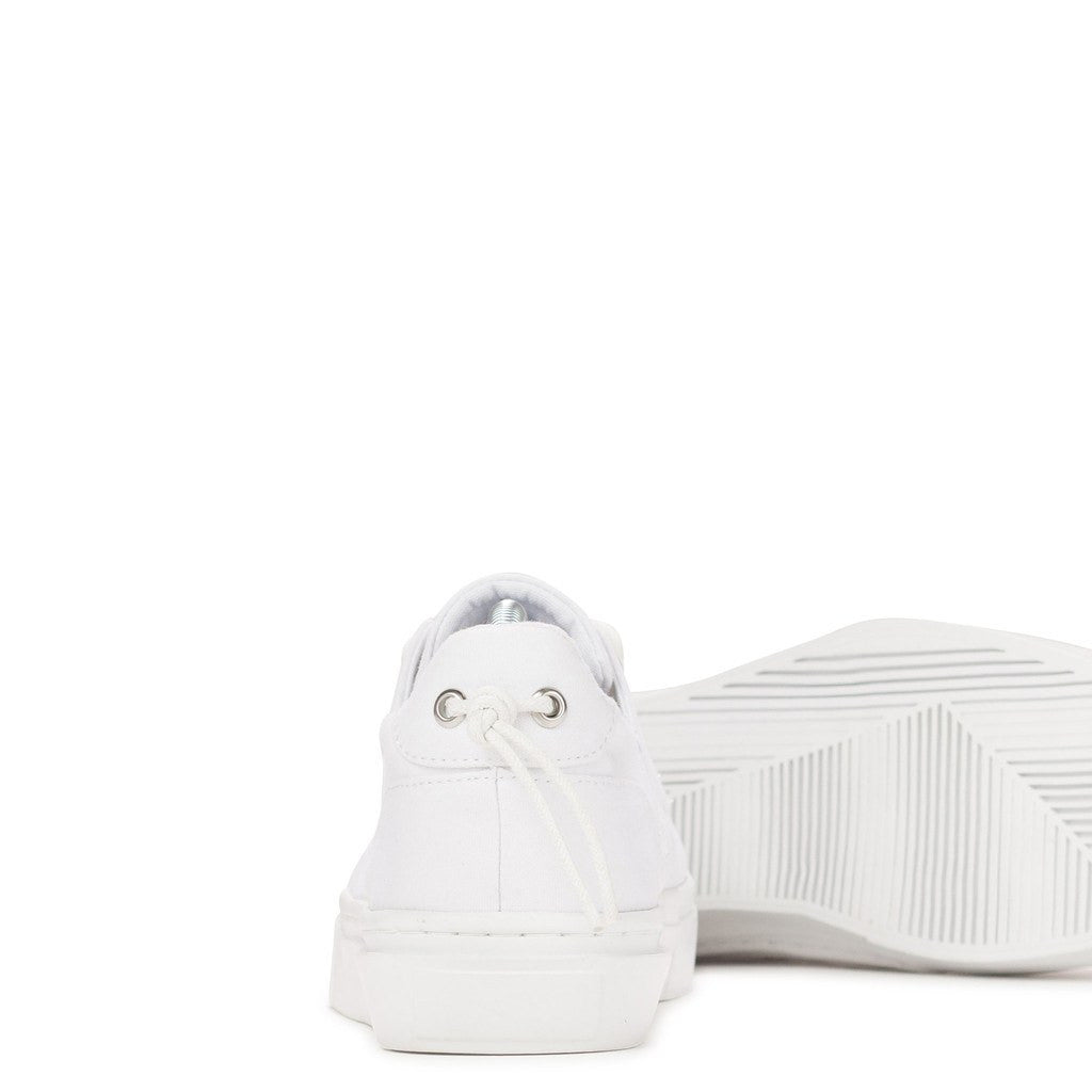 Clear Weather Eighty Low Top Shoes | White Canvas CRW-80-WHC