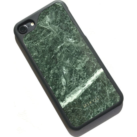 MIKOL Emerald Marble Serpentine iPhone Case | Green