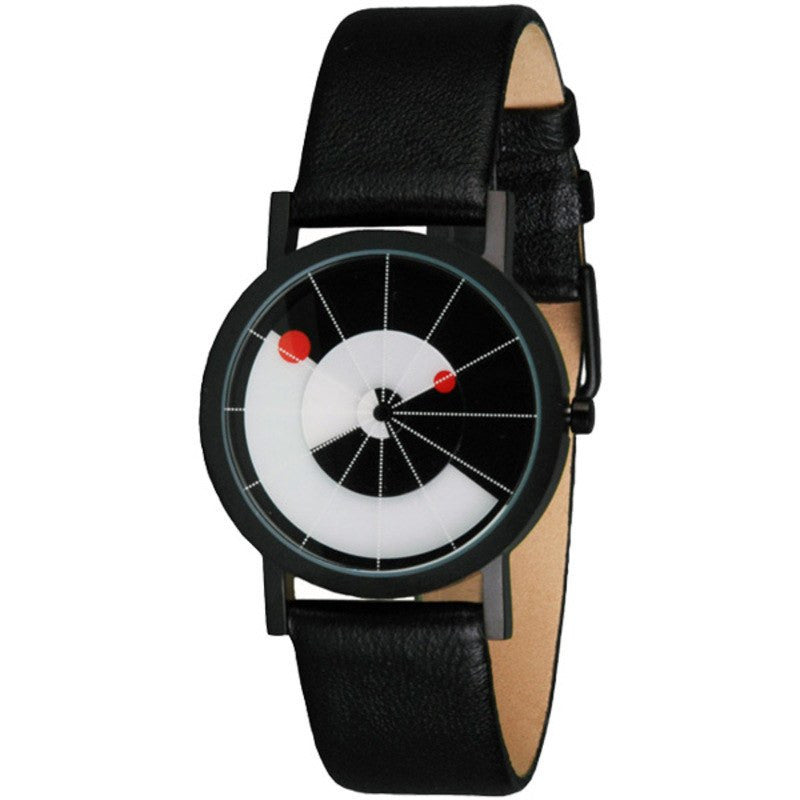 Projects Watches Daniel Will-Harris Equilibrium Watch | Black Leather
