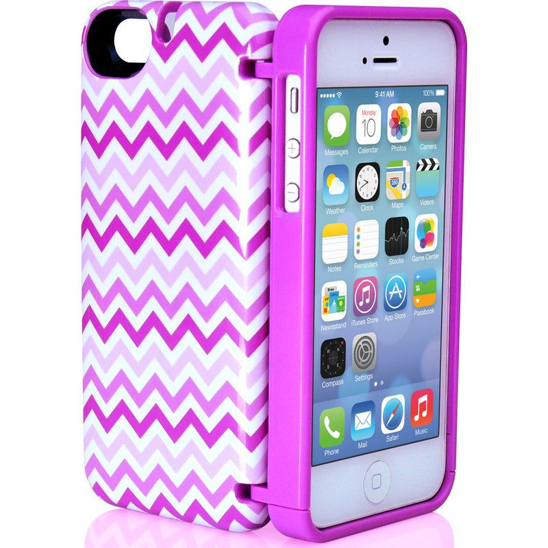 EYN iPhone 5/5s Wallet Case | Chevron